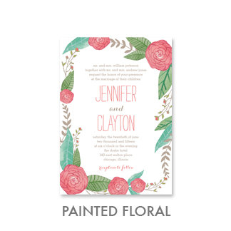 Painted Florals