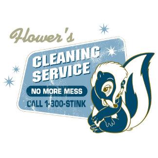 Bambi Flower skunk vintage Cleaning Service