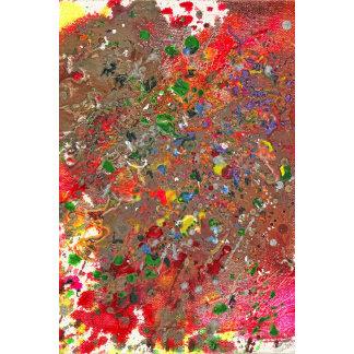 Abstract - Crayon - Montazuma's Revenge
