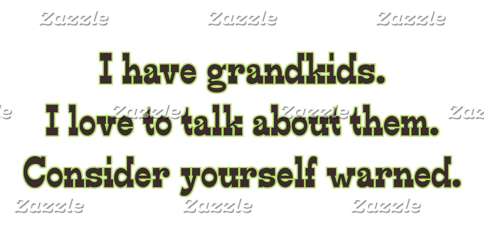A Warning from Grandparents