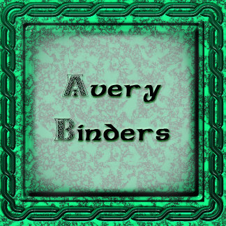 Avery Binders for around the Home