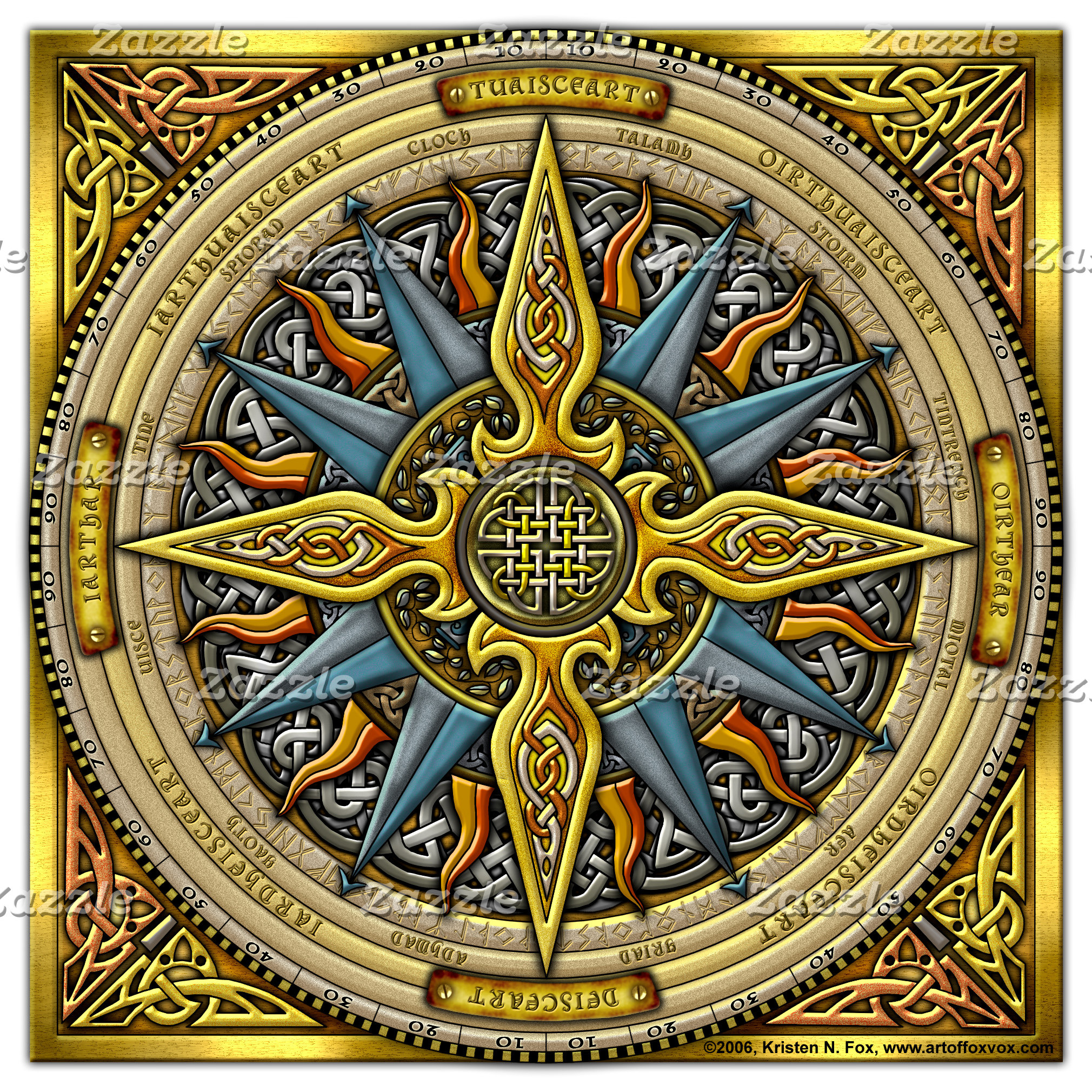 Celtic Compass