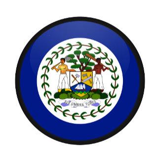 Belize quality Flag Circle