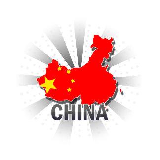 China Flag Map 2.0
