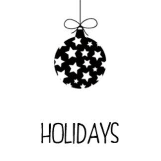 *Holidays*