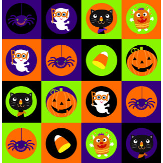 Halloween Icons Pattern