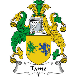 Tame Family Crest