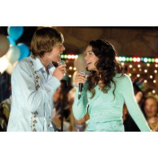 High School Musical Troy and Gabriella singing