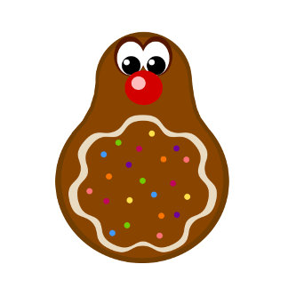 Christmas Gingerbread Cookie T-shirts / Gifts