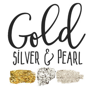 Gold Silver & Pearl