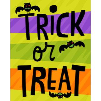 Halloween Trick or Treat Bats
