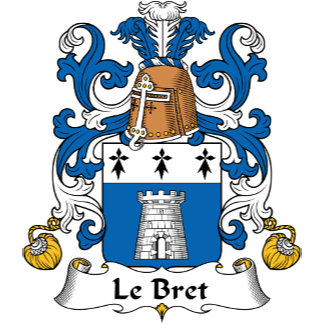 Le Bret Family Crest