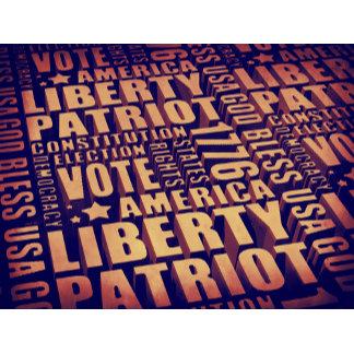 Patriotic Typography