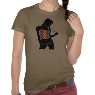 Silhouette & Glitter Shirts & Bags for Ladies