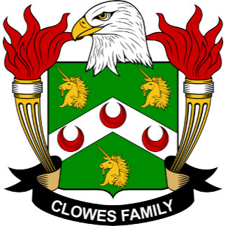 Clowes Coat of Arms