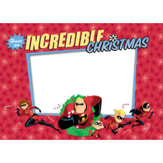 """The Incredibles """"Have an Incredible Christmas"""""""