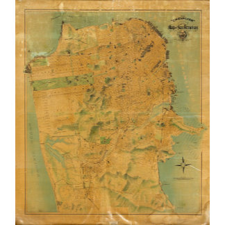 The Chevalier  Map of San Francisco