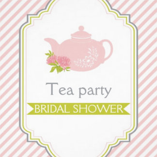 Tea party teapot