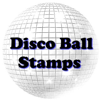 DISCO BALL STAMPS