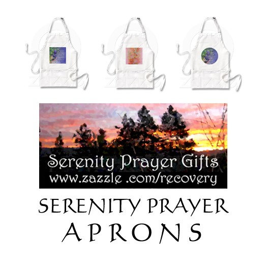 Serenity Prayer Aprons