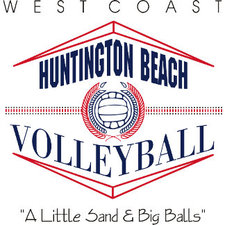 Huntington Beach Volleyball T-Shirts Gifts Cards
