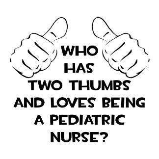 Two Thumbs .. Pediatric Nurse