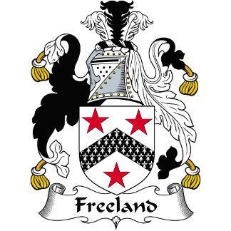 Freeland Family Crest / Coat of Arms