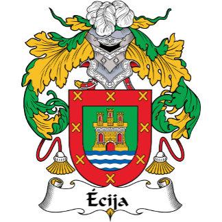 Ecija Family Crest