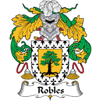 Robles Family Crest