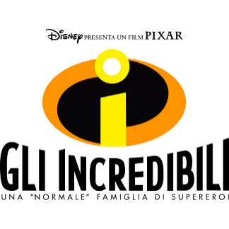 The Incredibles italian movie poster