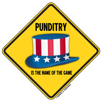 Punditry Is The Name Of The Game (Uncle Sam Hat)