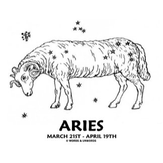 Aries (March 21st - April 19th)