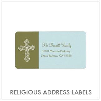 Baptism/Christening labels