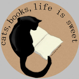 Cats  Books Life is Sweet v2