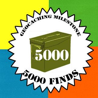 Geocaching Milestones Swag