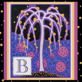 Art Deco Letter B