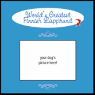 Personalized World's Greatest Finnish Lapphund