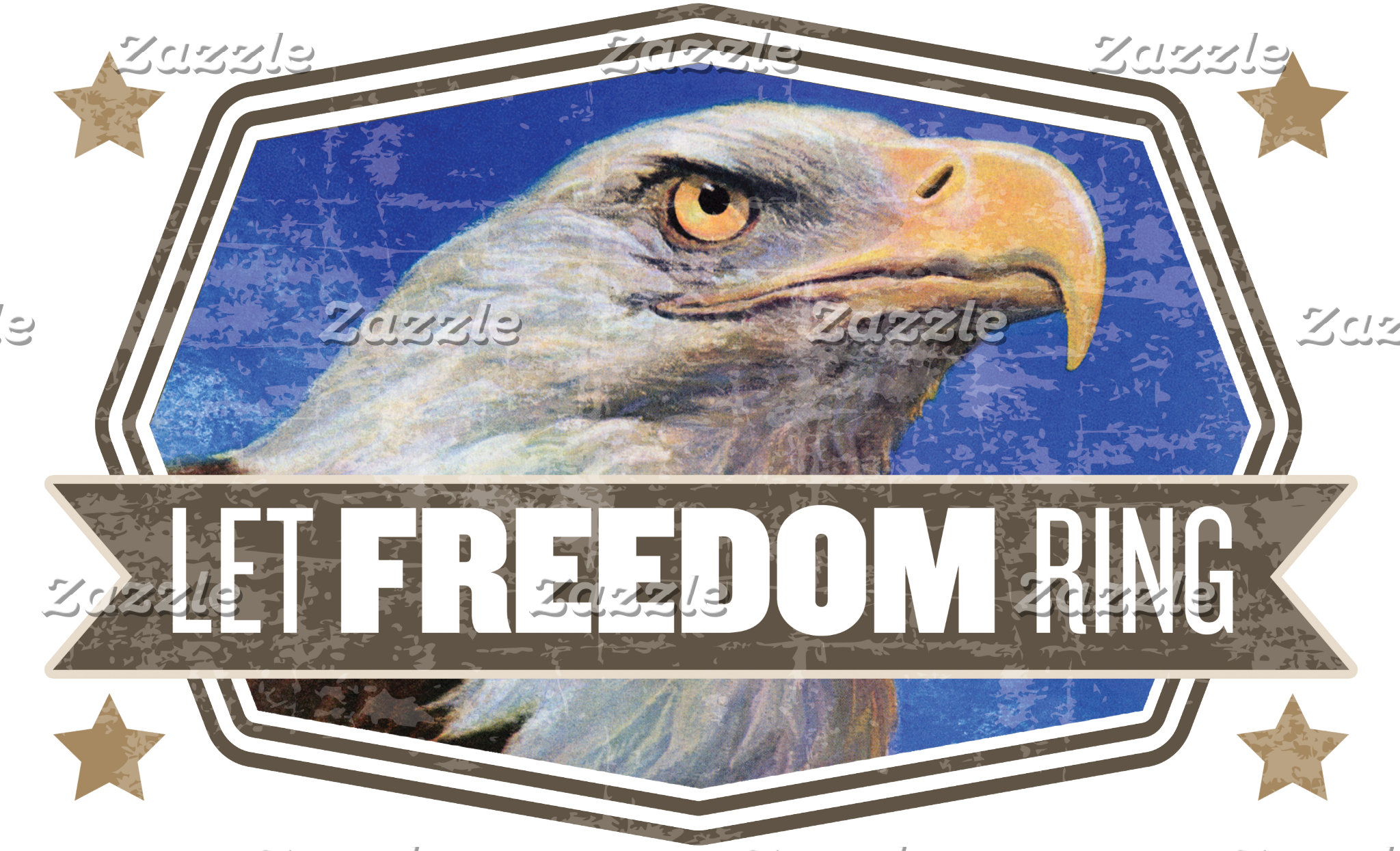 Eagle-Let Freedom Ring