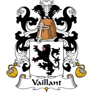 Vaillant Family Crest