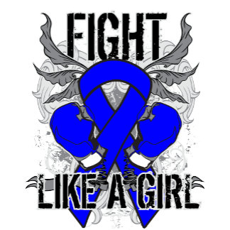 Colon Cancer Ultra Fight Like A Girl
