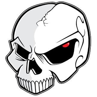 Evil Eye Skull
