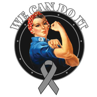 Brain Tumor - Rosie The Riveter - We Can Do It