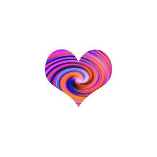 Color Swirl Heart