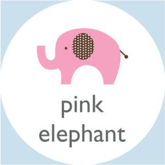 Dottie Pink Elephant
