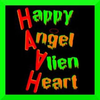 Happy Angel, Alien Heart