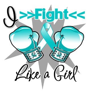 Cervical Cancer I Fight Like a Girl With Gloves