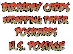 7. Birthday Cards, Postcards, U.S. Postage