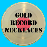 Gold Record Necklaces