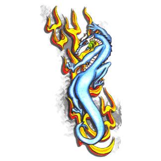 Dragon on Flame Tribal