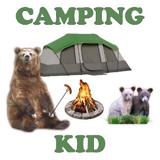 Camping Kid Bear